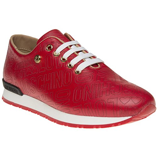 Love Moschino Logo Runner Donna Sneaker Rosso