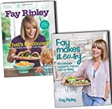 Fay Ripley Collection of 2 Food Books Pack Set (Fay Makes it Easy: 100 delicious recipes to impress with no stress, What''s for Dinner?: Easy and delicious recipes for everyday cooking)