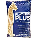 Platinum Plus Pellets Platinum Plus Animal Cat & Kitten Litter Wood Pellets 1x 15kg Bag, L, Light