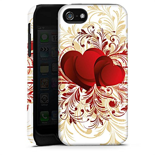 Apple iPhone 4 Housse Étui Silicone Coque Protection Amour silencieux Motif Motif Cas Tough terne