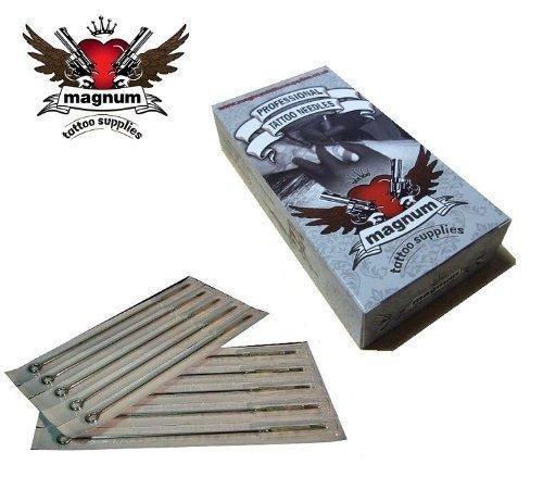 50 X MTS Tatouage Aiguille - Magnum incurvé Shaders (Rm) - 15 RM