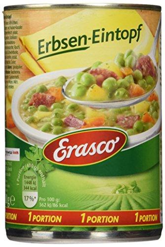 Preisvergleich Produktbild Erasco Erbsen-Eintopf ,  3er Pack (3 x 400 g Dose)