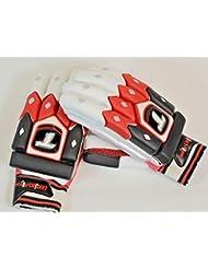 yk313tamaño de la guantes de bateador de críquet, para diestros, hombre, cómodo, Test estándar