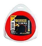 McCulloch 577616309 - Hilo de nylon redondo 3mm x 56m