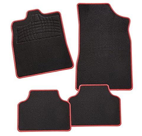 carfashion 241717Tapis Auto Red Edition