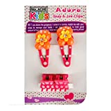 Panache Kids Adora Snap & Jaw Clips, 4 Pc. Combo, Gorgeous Girls Hair Accessories (Colour & Design May Vary, All Are Equally Good)