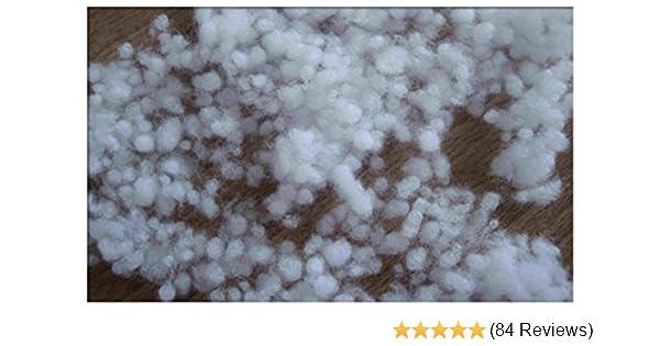 1kg Bastelwatte Füllwatte Polyesterhohlfaser Kissenfüllung Füllmaterial waschbar