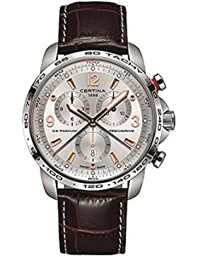 CERTINA DS PODIUM HERREN-ARMBANDUHR 44MM BATTERIE C001.647.16.037.01