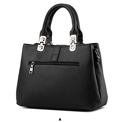 Packet Borse le Ladies Bag Bag Womens Ruiren Nero Femminile Borsa Messenger Donne Shoulder per Shopper Handbag HnTWPnRx0I