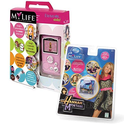MY LIFE CONSOLLE + GIOCO HANNAH MONTANA (Bundle Kit), è la tua vita...vivila !