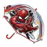 Cerdá 2400000409, Paraguas para Niños, (Rojo 001), One Size (Tamaño del fabricante:Única)