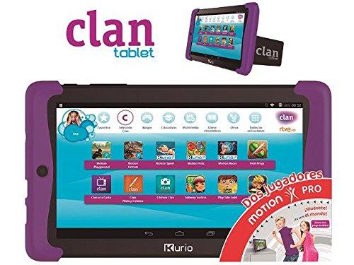 Tablet Para Niños Clan Motion 2