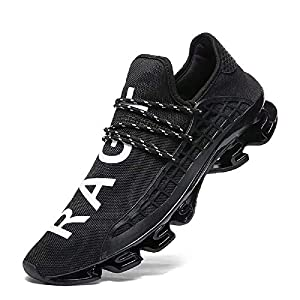FUSHITON Mens Trainers – Running Shoes Men Women Tennis Shoe Fashion Walking Sneakers Breathable Athletic Sport for Womens