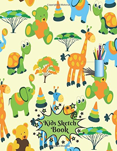 Kids Sketch Book: Childrens Extra Large Blank Notebook Journal For Doodling Drawing Sketching Scribbling Writing and More (Kids Sketchbook Collections, Band 18)