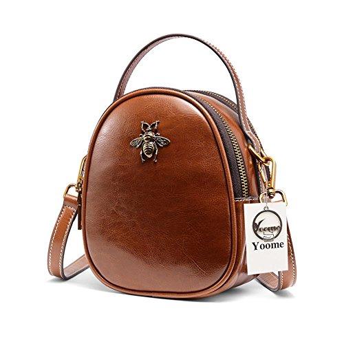 373ece1b1 Yoome Ladies Top Handle Tote Bag para Mujeres cocodrilo en Relieve Bolsas  Bolsos con borlas en