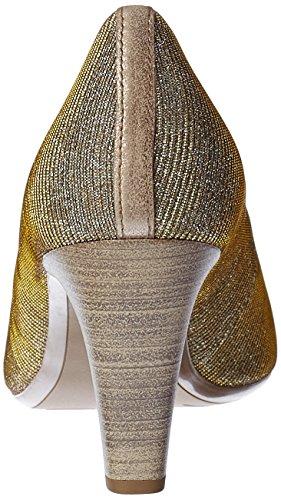 Gabor Fashion, Escarpins Femme Argent (platino/muschel 62)