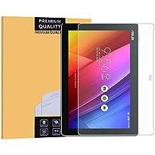 EasyULT Asus ZenPad 10(Z300C) Protector de Pantalla,Protector Pantalla de Cristal Templado para Asus ZenPad 10(Z300C)(Transparente,Dureza de Grado 9H)