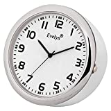 Evelyn Analog Table Clock & Car Dashboard Time Clock Quartz Watch Size 45mm Evt-05