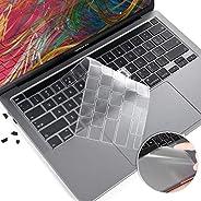 غطاء لوحة المفاتيح 3 في 1 MacBook Pro 13 2020، مضاد للخدش ماك بوك برو A2338 M1 A2289 A2251 واقي لوحة المفاتيح،
