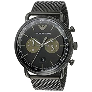 Emporio Armani Aviator Analog Multi-Colour Dial Men's Watch – AR11142