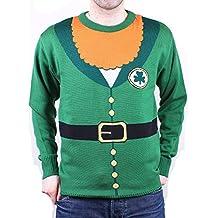 Jersey St. Patrick's Day Ireland Sudadera Verde Adultos