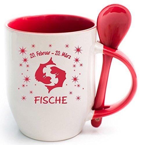 51cBNwQZGEL Sternzeichen Fische Kaffeetasse Becher Tasse