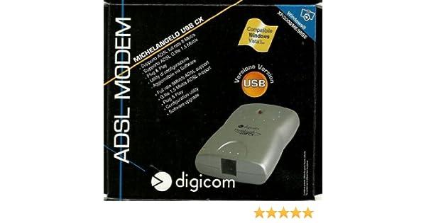 driver modem michelangelo usb cx