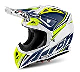 AIROH Motorrad Helme, Blau, Größe XS