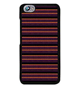 Fuson Fire Wall Roads Designer Back Case Cover for Micromax Canvas Fire 4 A107 (Ethnic Pattern Patterns Floral Decorative Abstact Love Lovely Beauty)