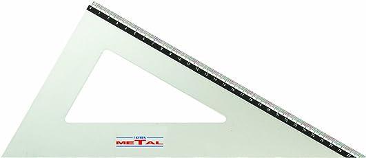 Lyra Metal Squadra 32cm/60°in busta PVC
