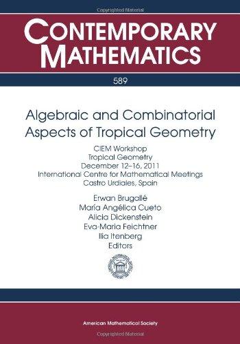Algebraic and Combinatorial Aspects of Tropical Geometry (Contemporary Mathematics)