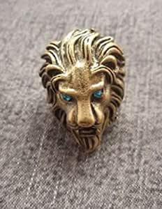 Lion King Retro Rhinestone Ring Jewellery Retro Costume Fashion Accessory Cool Sexy