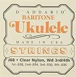 Best D'Addario Ukulele Strings - D'Addario Cordes pour ukulele D'Addario J68, Baritone Review