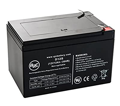 Universal Power UB12120 12V 12Ah Wheelchair Battery - This is an AJC Brand® Replacement