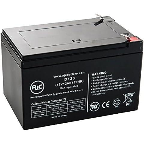 Batteria per Scooter elettrico LashOut electric bike (POD) 12V 12Ah - Ricambio di marca AJC®