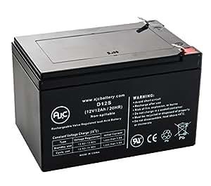 Batterie IBT Technologies BT12-12 12V 12Ah Acide scellé de plomb - Ce produit est un article de remplacement de la marque AJC®