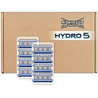 Wilkinson Sword Hydro 5 Rasierklingen Klingen, für Herren Rasierer briefkastenfähige Verpackung, 8 St