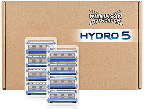 Wilkinson Sword Hydro 5 Rasierklingen für Herren Rasierer briefkastenfähig, 8 St -