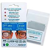 Varionet - Lingette essuie-verres anti-buée pour lunettes en microfibre high-tech