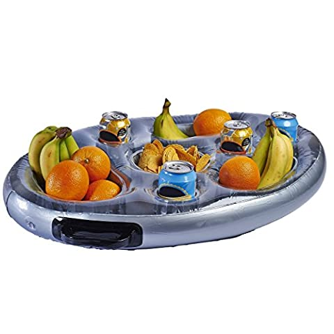 New Inflatable Floating Spa Bar Pool Hot Tub Side Tray For Food Drinks Snacks