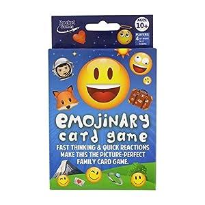 Rocket Toys and Games ROC1433 - Juego de Cartas de emoticonos, Multicolor