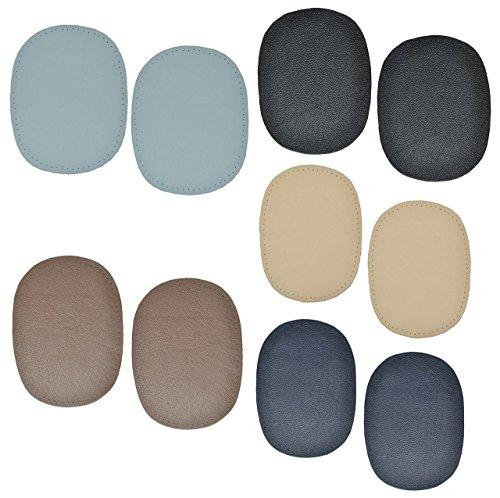 alles-meine.de GmbH 10 Stk. Nappa - echtes Leder Flicken - verschiedene Farben - 10 cm * 13 cm -...