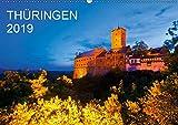 THÜRINGEN 2019 (Wandkalender 2019 DIN A2 quer): Ein Jahr Thüringen. 13 faszinierende Aufnahmen des Freistaates in der Mitte Deutschlands. (Monatskalender, 14 Seiten ) (CALVENDO Orte) - Werner Dieterich