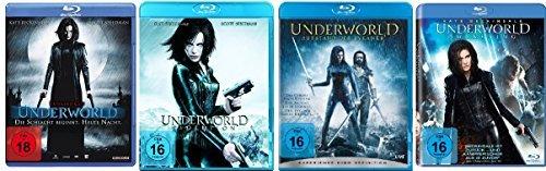 Underworld 1-4 : FSK-18 Blu-ray Set - Deutsche Originalware [4 Blu-rays]