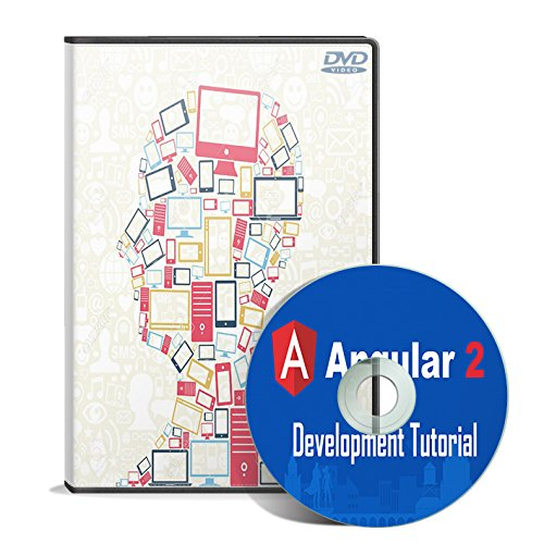 Angular 2 Development Tutorial - Learn by Building Apps (2 DVDs)
