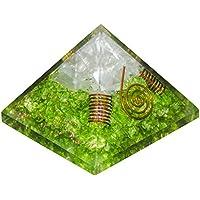 Crocon Selenit Edelstein Energetische Pyramide grün Onyx Energie Generator für Chakra Balancing, Reiki Healing... preisvergleich bei billige-tabletten.eu