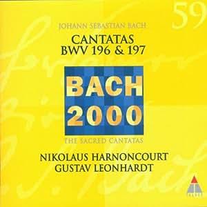 Bach 2000 (Kantaten BWV 196-197)