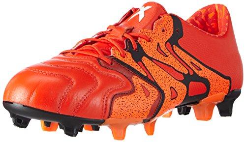 adidas X15.3 FG/AG, Chaussures de football homme, Rouge - Rot (Bold Orange/Ftwr White/Solar Orange), 6