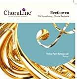 Beethoven 9th (Choral) Symphony / Choral Fantasia TENOR Voice Part Rehearsal CD