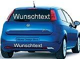 100 cm Wunschtext Domain Namen Wunsch Aufkleber Autobeschriftung Auto Heckscheibe Domainaufkleber